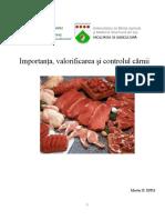 Importanta, Valorificarea Si Controlul Carnii