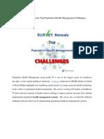 Survey Reveals Top Population Health Management Challenges