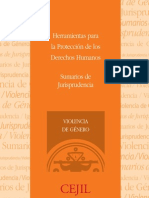Sumarios Jurisprudencia Violencia de Genero (CEJIL)
