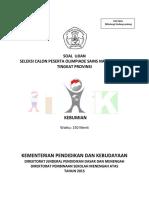 Soal OSP Kebumian_2015