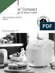 Sunbeam Compact Bakehouse Manual Bm2500