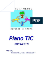 PlanoTic Agrupamento de Escolas de Mafra 2009/2010