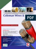 Coleman Technical Brochure