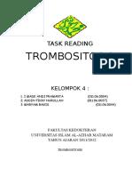 TROMBOSITOSIS