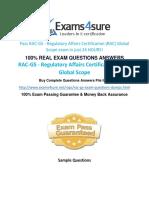 RAC GS Exam Questions