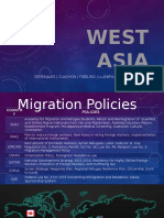 Day Clan 6 Migration Policies and Vector Map