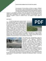 Histórico da politica de recursos hidricos do AP