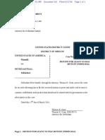03-17-2016 ECF 316 USA v SANTILLI - Motion for Leave to File Motion Under Seal