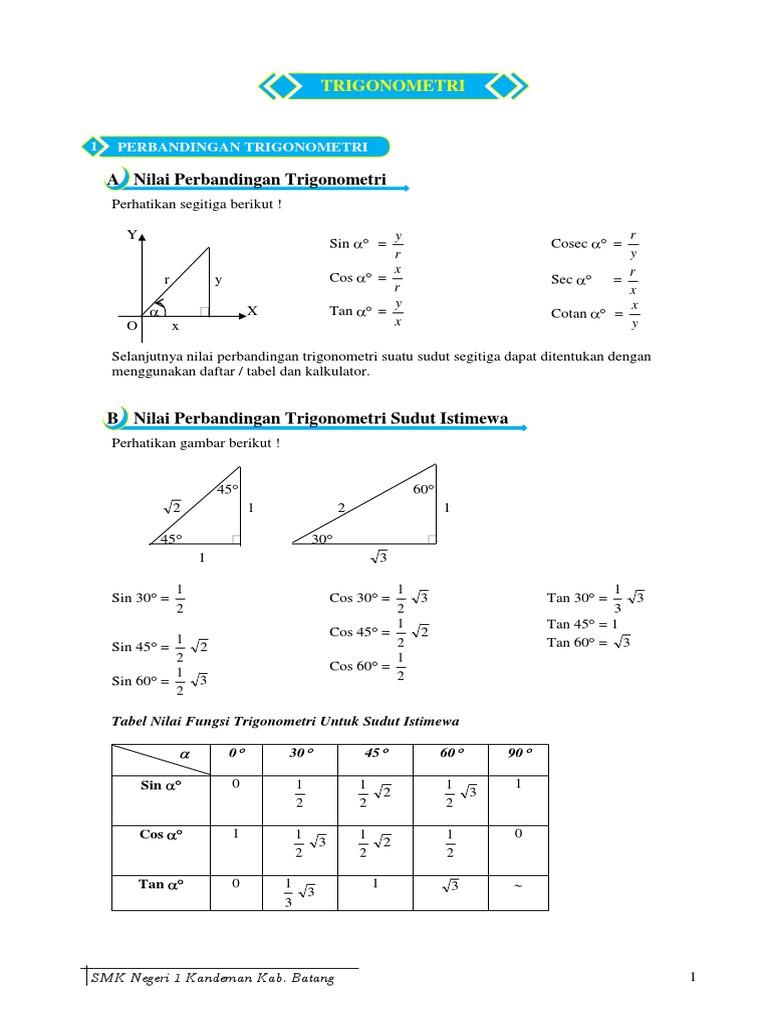 Materi trigonometripdf ccuart Images