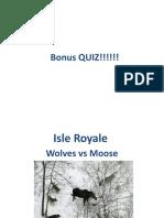 Isle Royale Ready
