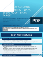 Lean Accounting & Target Costing