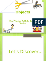 Movements of Objects