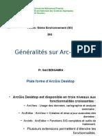 3.Généralité Sur ArcGis 9.1