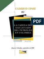 Cuaderno Upme Cadena Del GLP en Colombia