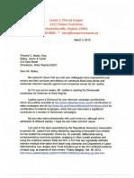 RGA research on Jim Justice in WV GOV 3/3/2016