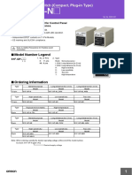 61F-GP-N Level Switch Datasheet en N42I-E-01