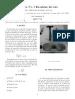 Práctica 5 Densidad Del Aire-pedro
