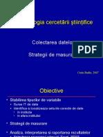 Curs 3 CB Metodologia Cercetarii