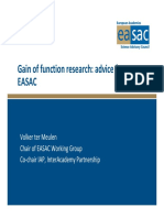 Gain of Function Research