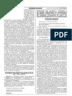 Ordenanza que reconoce y formaliza a los grupos organizados de adolescentes del Distrito de Supe Puerto con el objetivo de contribuir al proyecto de vida y su desarrollo integral de las y los adolescentes