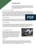 Tips Modifikasi Motor bagi pemula