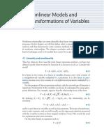Concepts linear vs Non-linear Regression