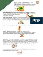 Retroalimentación de Nutrición y Salud