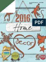 2016 Home Decor Catalog.v7