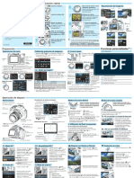 EOS 1100D Quick Reference Guide ES v1.0