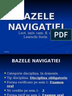 Cursul 1-Bazele navigatiei