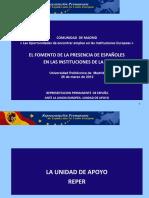 Moya Isabel REPER El Fomento de La Presencia de Españoles en Las Instituciones Europeas