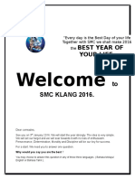 Welcome to Smc Klang 2016