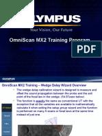 MX2 Training Program 10C Wedge Delay Calibration Wizard