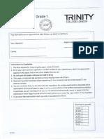 Grade1 Nov 2013 question papers