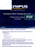 MX2 Training Program 14A Phased Array Analysis Overview