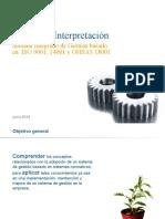 SIG ISO 9,14 y Ohsa 18