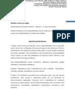 Trabalho de Fernanda Resenha Crítica Do Artigo