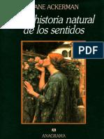 Una Historia Natural de Los Sentidos