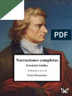 Schiller, Friedrich - Narraciones completas.epub