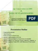Ec Act 2001& Role of Stakeholders_npti-21!01!2013 Final