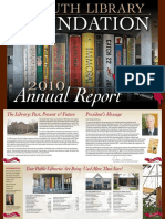 Duluth Library Foundation Annual Report 2009-2010