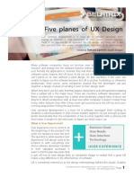 Whitepaper the Five Planes of UX Design