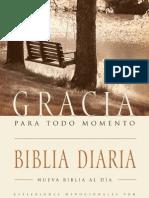 Biblia Gracia para todo momento - muestra