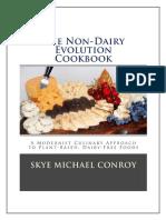 The Non Dairy Cookbook