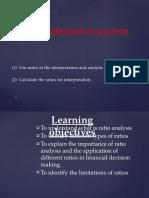 Lecture 9 Interpretation of Accounts