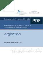 Argentina 3ra Ronda 2010