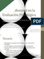 Psicodiagnostico y Etica