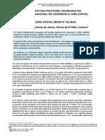 18 de Marzo Comite Multisectorial Fenomeno Del Niño