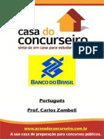 Apostila Bancodobrasil 2015 Portugues Carloszambeli