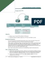 05. Manage IOS via Tftp Server